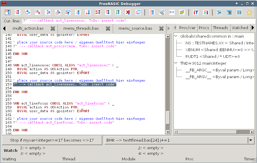 Cross platform GUI project (debugger for FreeBASIC) - Page 4